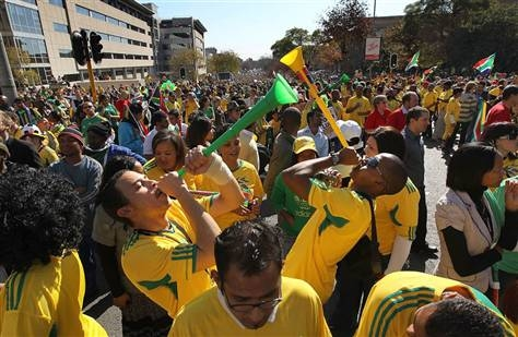 Party starts in South Africa on World Cup's 1st day