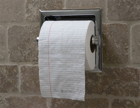 12 Creative Toilet Paper Designs