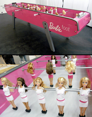 Barbie-foot