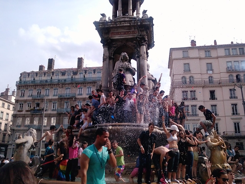 Gay Pride in Lyon