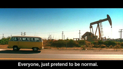 everyone, just pretend to be normal