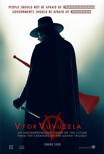 V for Vuvuzela