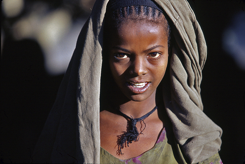 Photographie de Tewfic Manali - North Abyssinia, Epiphany festival in Lalibela