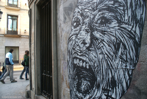 Street Art in Madrid - unurth