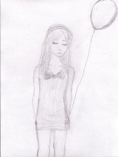 girl with #balloon