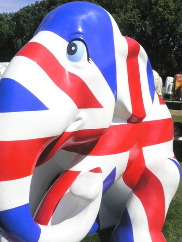 London Elephant Parade: Amazing ! :-)
