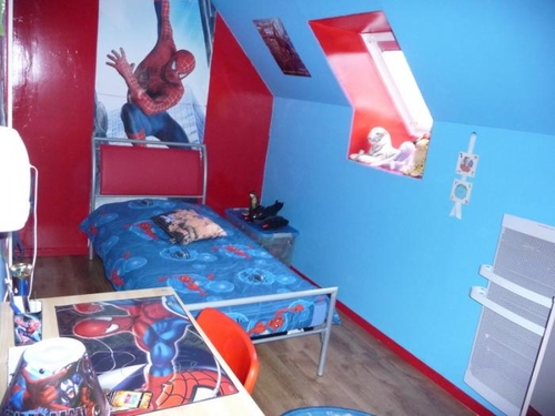 Spiderman images curated on kweeper for Decoration chambre spiderman