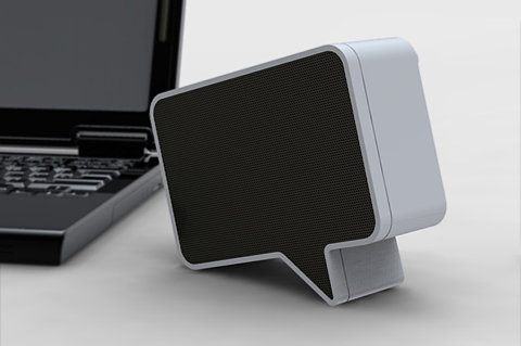 Speakers: The Speak-er Brings Speech Bubbles Into the 21st Century