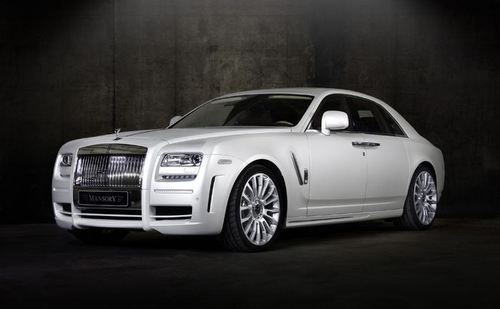 Rolls Royce Ghost Mansory Limited Edition