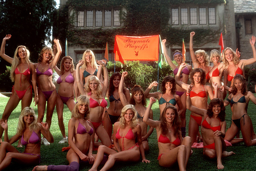 Playmates of 1983 - Playmate Playoffs at the Mansion [Pics] | The Smoking Jacket