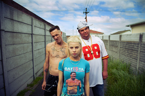 HUH. Magazine - Stream Die Antwoord's First American Release