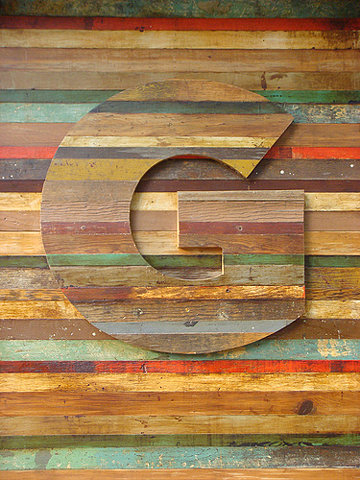 FFFFOUND! | Gotham G in wood on Flickr - Photo Sharing!