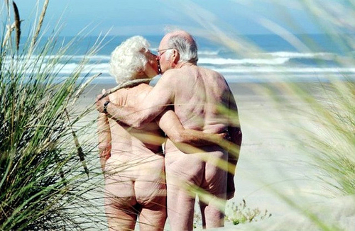 Old nude lovers