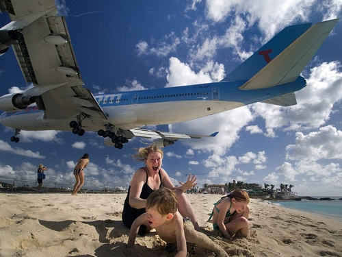 St. Maarten Photo, Mahó Beach Picture – National Geographic Photo of the Day