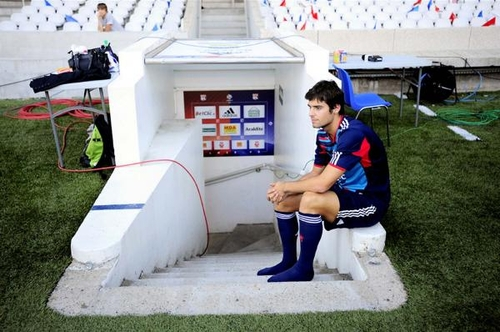 Gourcuff attend ses chaussures