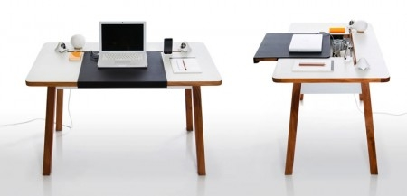 StudioDesk, le bureau optimisé pour notebook ! CLEVER !!!! :-)