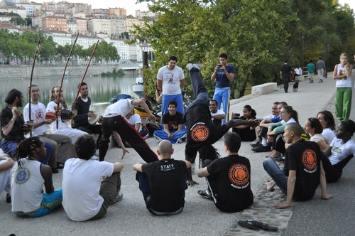 Capoeira in Lyon !!