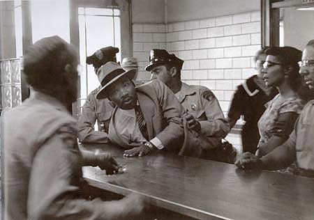 Martin Luther King Arrested on a Loitering Charge, Montgomery, 3 Sept. 1958
