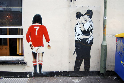 Banksy the genius