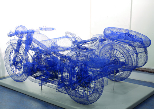 Spectacular 3D sculptures made of steel wire » This Blog Rules | Why go elsewhere?