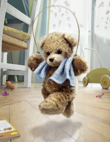 Teddy Bear photographed by The Unknown Artist- ONE EYELAND
