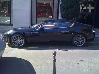 iMarin.net: The New Aston Martin RAPIDE spotted in Paris
