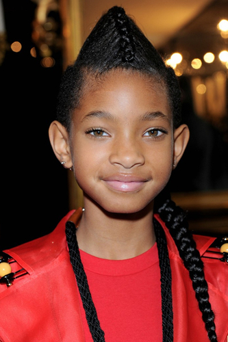 Willow Smith's Faux Hawk Pony Tail