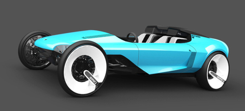 Concept Car Inspired by Electronica
