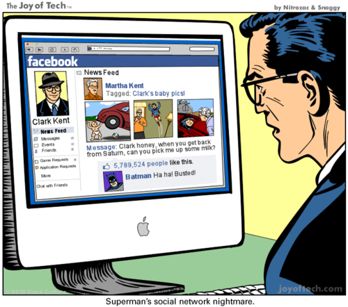 Pourquoi Superman déteste Facebook - Web and Luxe - Blog Luxe Marketing