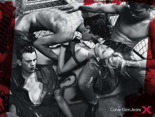 Calvin Klein Jeans Campaign Criticised For Suggesting Gang Rape