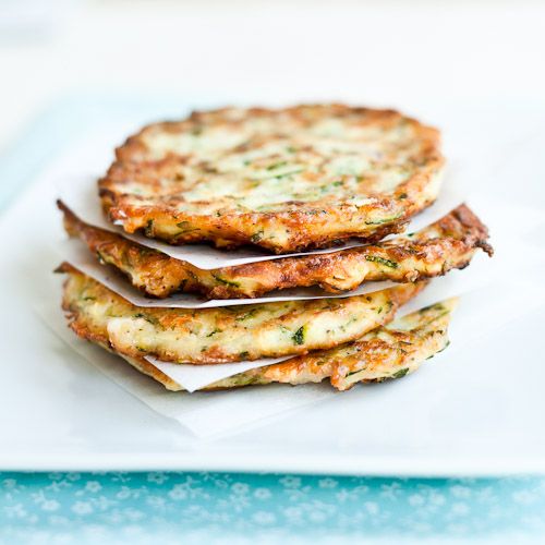 Cook Your Dream: Courgette Fritters with Feta