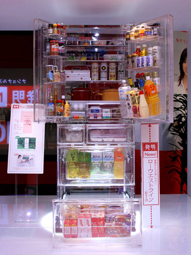 03. Frigo d'exception : transparent #design