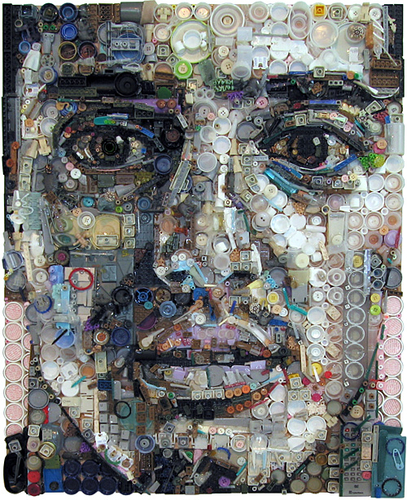 Junk Portraits by Zac Freeman