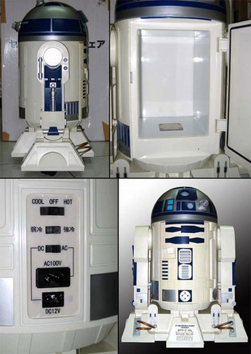 04. Frigo d'exception : R2D2 #design