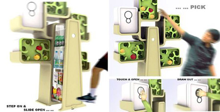 02. Frigo d'exception : arbre #design