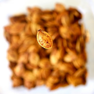 Delicious Roasted Pumpkin Seeds