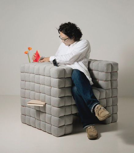 """Cool """"Lost in Sofa"""", the Black Hole of Small Objects"""