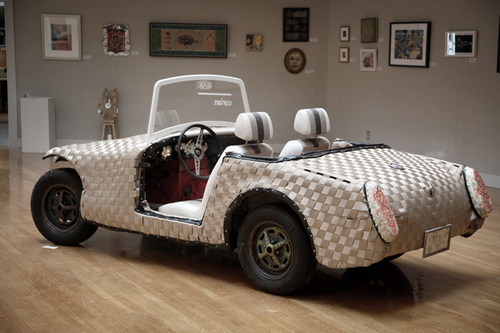 Woven Car by Ann Conte and Jeanne Wiley