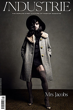 Marc Jacobs Posed in Drag for the Cover of Industrie -- The Cut