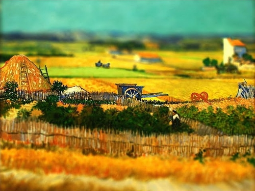 Tilt-Shift Van Gogh by Serena Malyon