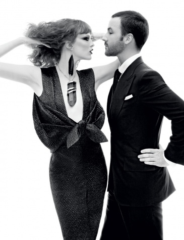 Tom Ford Returns: An Exclusive Look at his Womenswear Collection - Magazine - Vogue