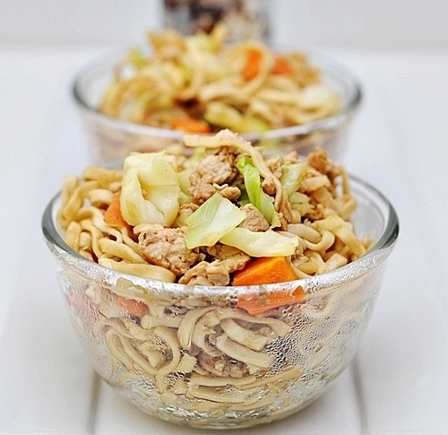 Chicken & Vegetables Noodles