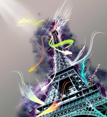 41 Splendid Pictures Inspired By Eiffel Tower | Photo Collection - Graphics Arts, Amazing Desings an