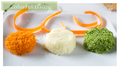 the colorful trio puree