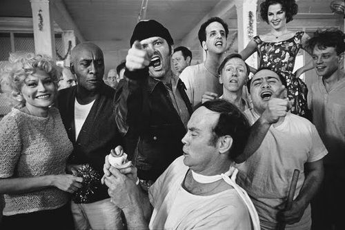 mary ellen mark -The Cast of One Flew Over the Cuckoo's Nest