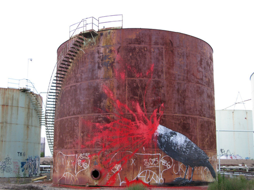 Roa Hits An Oil Refinery, California