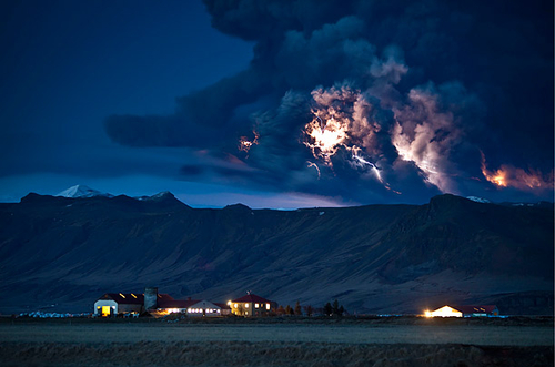 The Best Photos from TIME 2010 - Volcanic Eruption in Iceland