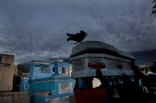The Best Photos from TIME 2010 - Funeral in Haiti