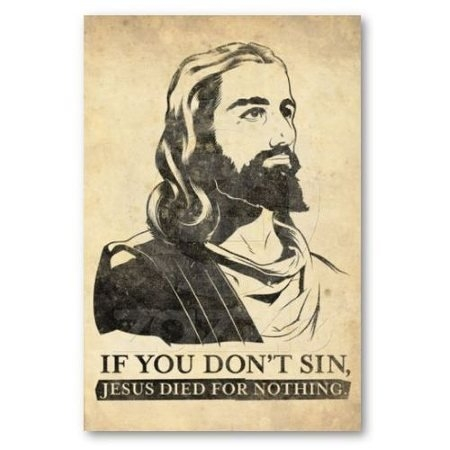 don't sin