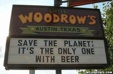 A Good Reason to Save the Planet #messages